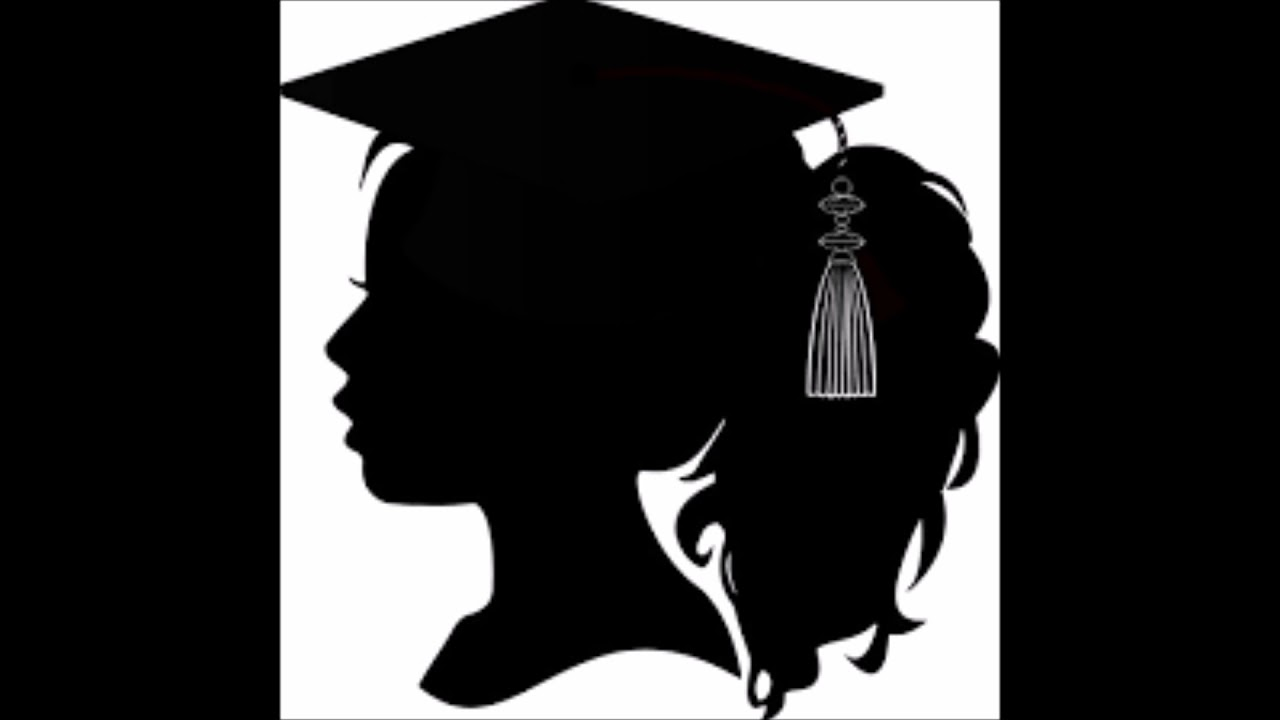 graduate silhouette clipart - 921×932