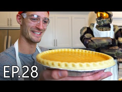 WORLD'S BEST PUMPKIN PIE (Master Chef) | Living With Chief Ep.28