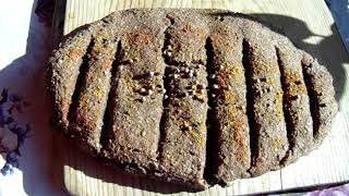 Ржаной хлеб бездрожжевой Самый простой рецепт вкусного хлеба