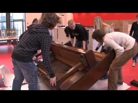oude piano slopen