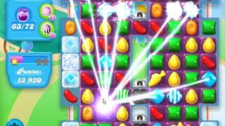 Candy Crush Soda Saga LEVEL 265- ★★★STARS( No booster )