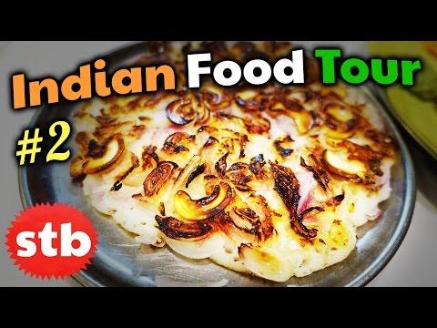LIFE CHANGING Indian Food Tour #2 in Madurai, India // Uttapam, Dosa & Jigarthanda