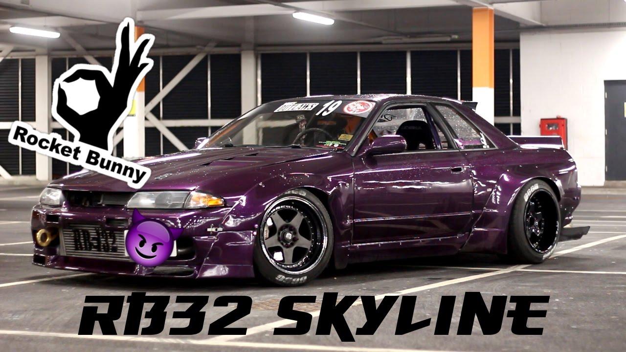 Rocket Bunny Drift R32 Skyline Youtube