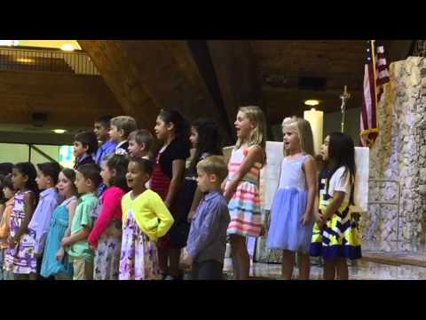 Graduation KINDERGARDEN Saint David Catholic School 2015 -Bella😍