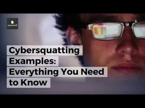 Cybersquatting Examples: Everything You Need to Know