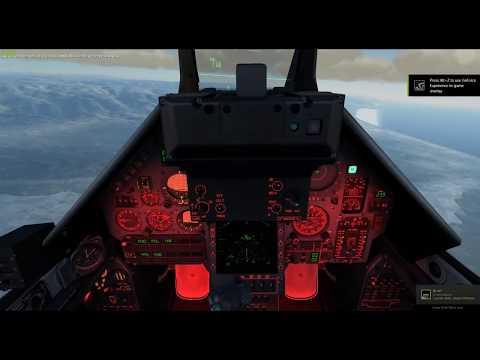 DCS Mirage Combat Air Patrol Fun