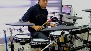The Middle - Zedd, Maren Morris, Grey (Drum Cover) - Roland TD50K