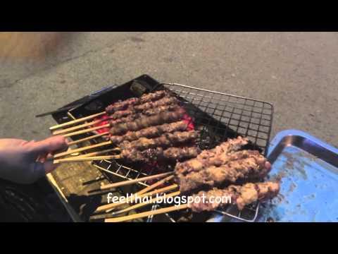 Roadside pork BBQ Hanoi