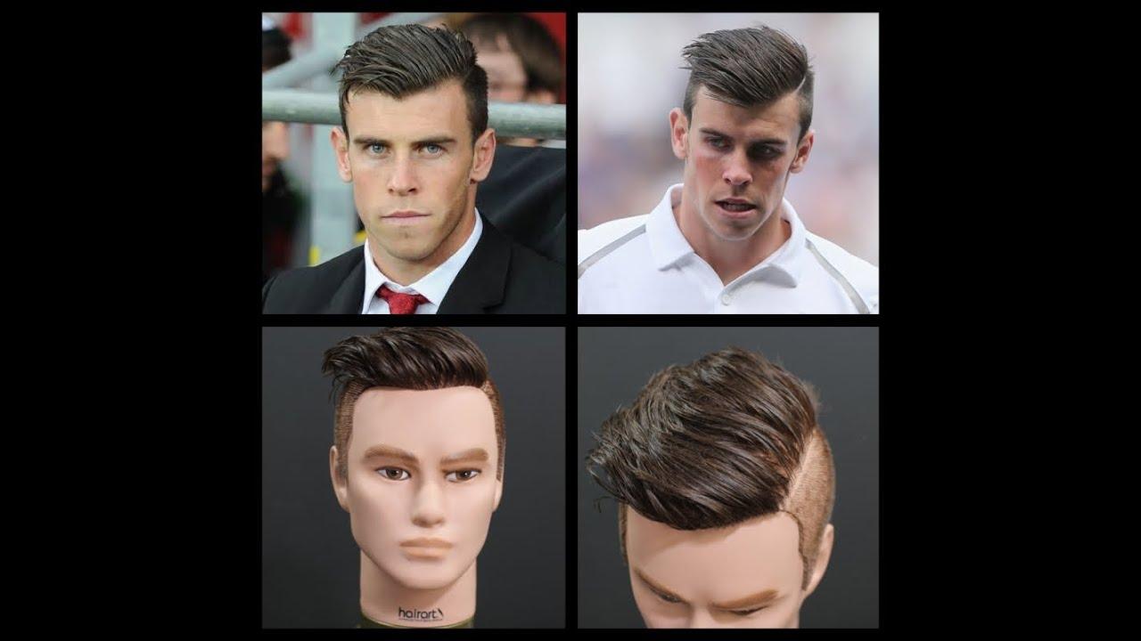 Gareth Bale Inspired Haircut Tutorial Thesalonguy Youtube