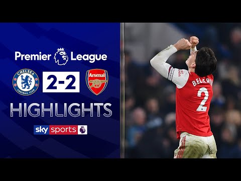 10-man Arsenal grab late equaliser! | Chelsea 2-2 Arsenal | Premier League Highlights