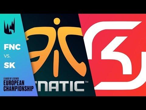 IS FNATIC BACK?? Vod review FNC VS SK GAMING LEC Summer Week 1 Day 1