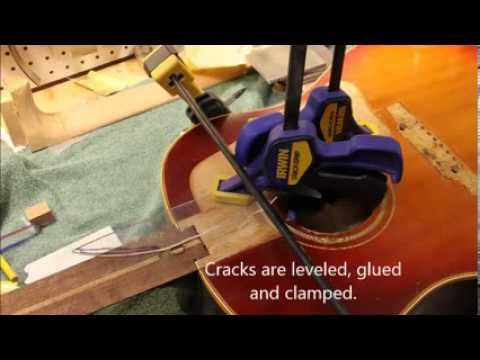 1962 Gibson J-45 Repair & Restoration at Bayberry Music