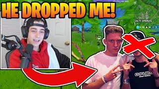 Cloakzy *REVEALS* The *REAL* Reason Tfue *DROPPED* Him! (FORTNITE TRIO TOURNAMENT)