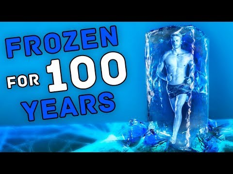 WHAT WOULD HAPPEN IF A PERSON WAS FROZEN FOR 100 YEARS AND THEN UNFROZEN?