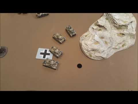 Flames of War VERSION 4, Test Game 1 DAK v Desert Rats 80pts