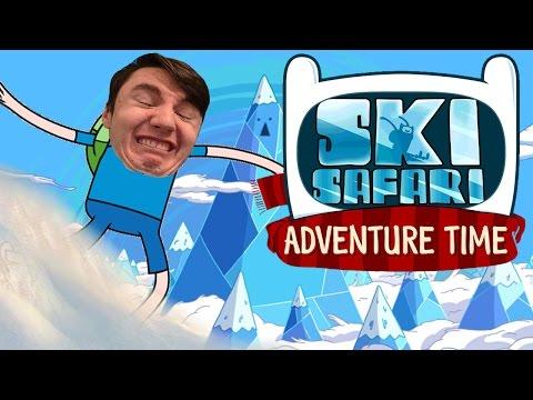 MATHEMATICAL! | Adventure Time Ski Safari
