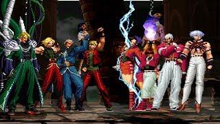 Kof Mugen Omega Team VS Orochi Team