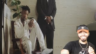 21 Savage - Bank Account (Official Music Video) REACTION