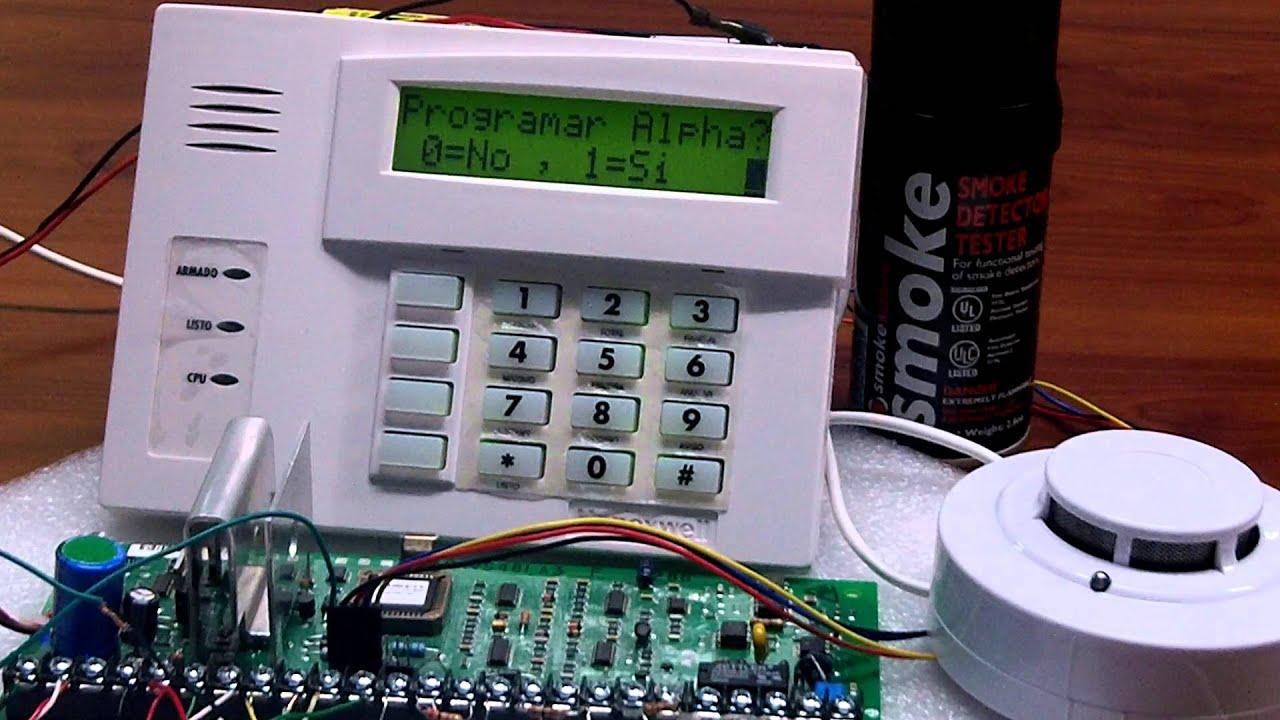 Detectores de humo sfire con panel vista 48la youtube - Detectores de humos ...