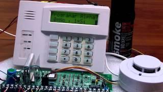 Detectores de Humo SFIRE con panel Vista 48LA
