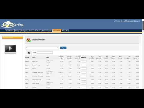 Restaurant Kitchen Inventory how to manage your restaurant inventory and food costs - youtube