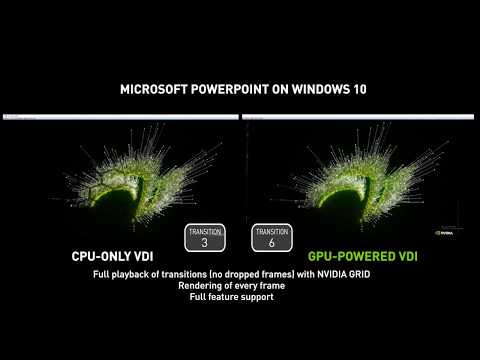 Windows 10 VDI with NVIDIA GRID vPC