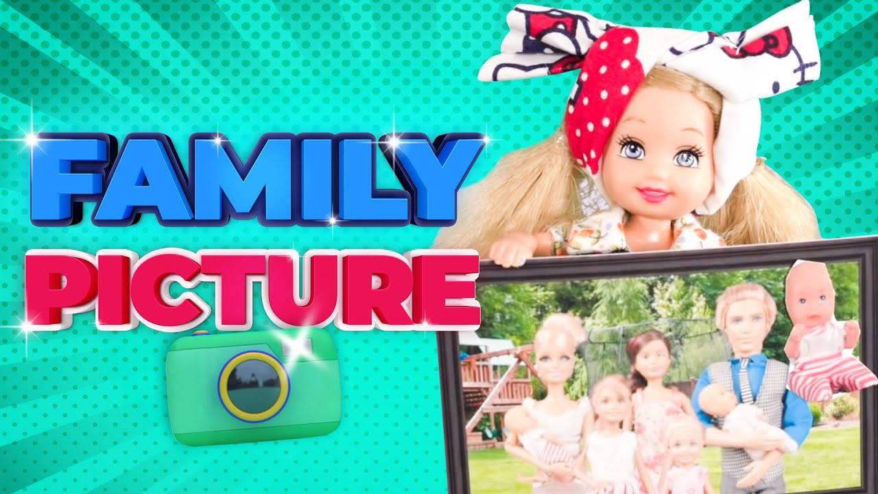 Download Barbie - The Surprise Family Photo | Ep.166