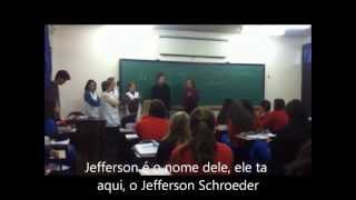 Jefferson Schroeder imita seus professores do Realização da UNC em Canoinhas SC thumbnail