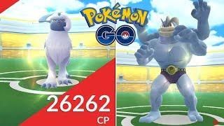 INCURSIÓN DE ABSOL MÁS INCURSIÓN DE MACHAMP EN SOLITARIO! [Pokémon GO-davidpetit]