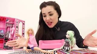 МонстерХай против Барби. Кто сильнее? Видео с куклами