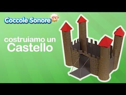Costruiamo un Castello riciclando! - Lavoretti bambini - YouTube