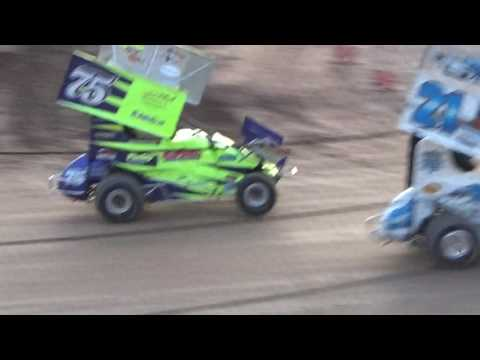 Paradise Speedway Brandyn Griffin 5/27/17  feature race