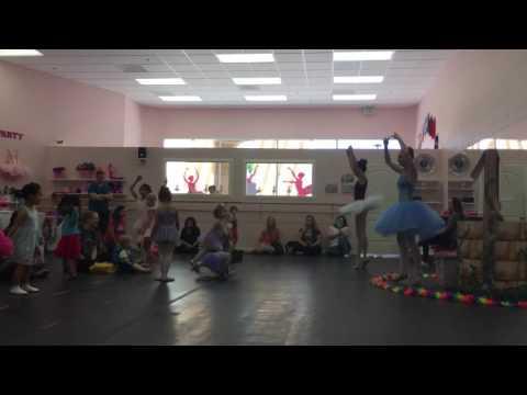 Olivia ballet class