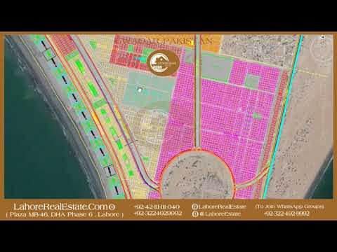 Gwadar Major Housuing Schemes & Sangar Avenue Road Explained By CMY Lahore Real Estate Sept 30 2017