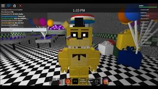 Golden Freddy plays: ROBLOX FNAF 2 ROLEPLAY