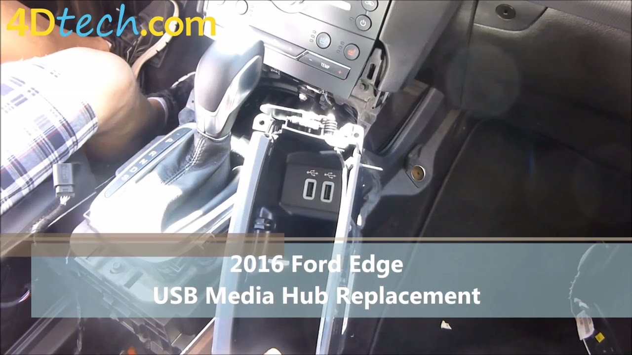 Add Apple CarPlay to SYNC 3   2015 - 2016 Ford Edge