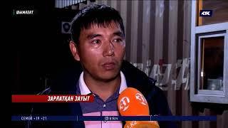 Полиция: «Шымкент крепеж» зауытында заңсыз гастарбайтерлер толып жүр