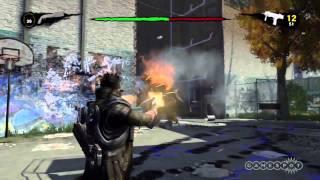 NeverDead - Bone-Arm Boss Gameplay Video (Xbox 360)