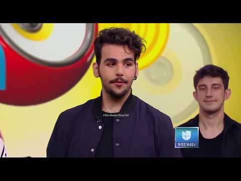 Il Volo * Noche sin día * (nueva versión) en Despierta América.