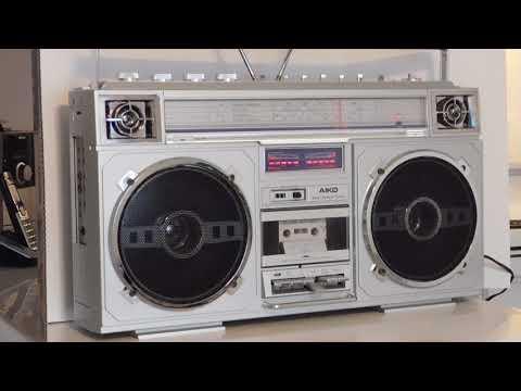 FOR SALE: RARE HUGE AIKO ATPR-9000 BOOMBOX RADIO 1980'S GHETTO BLASTER AKA BOLT BOX
