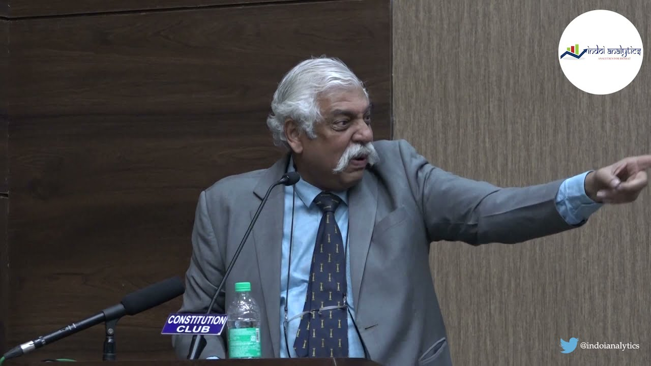 Maj. Gen. GD Bakshi, shrillest warmonger in the media, hits new low with gaali on Republic TV