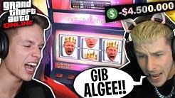 REWI & LUCA testen ein ONLINE CASINO und verlieren ihr Geld | GTA V