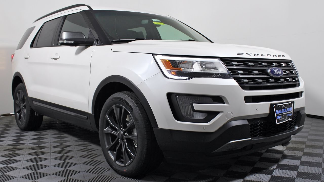2017 Ford Explorer Xlt Sport Appearance Package 4x4 Suv At Eau