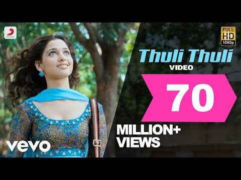 Thuli Thuli Mazhaiyaai Song Lyrics From Paiyaa