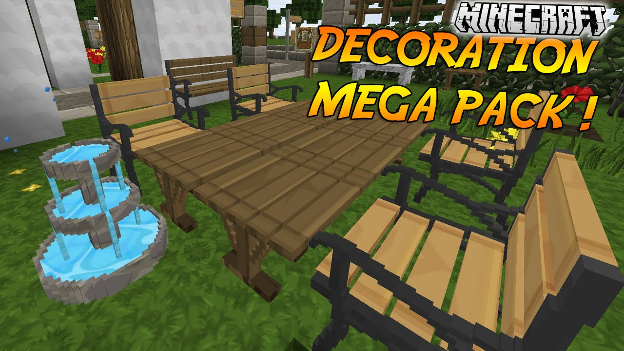 Minecraft Decoration Mod Pack 1 7 10 | Shelly Lighting