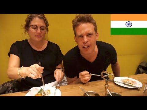 LET'S TRY INDIAN FOOD - TRYING INDIAN FOOD IN LONDON