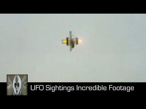 UFO Sightings Incredible Footage October 7th 2017