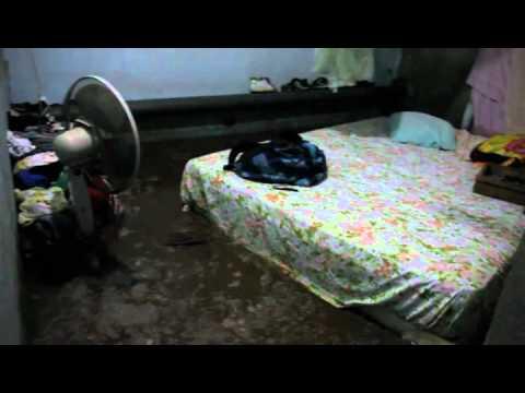 Destrozos por lluvias en Managua