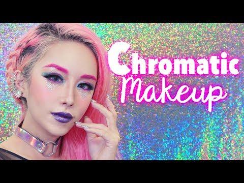 Chromatic Makeup Tutorial + Magical Cotton Pad that applies makeup?!