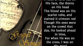 Download Mp3 When He Was On The Cross - Donny Reagan